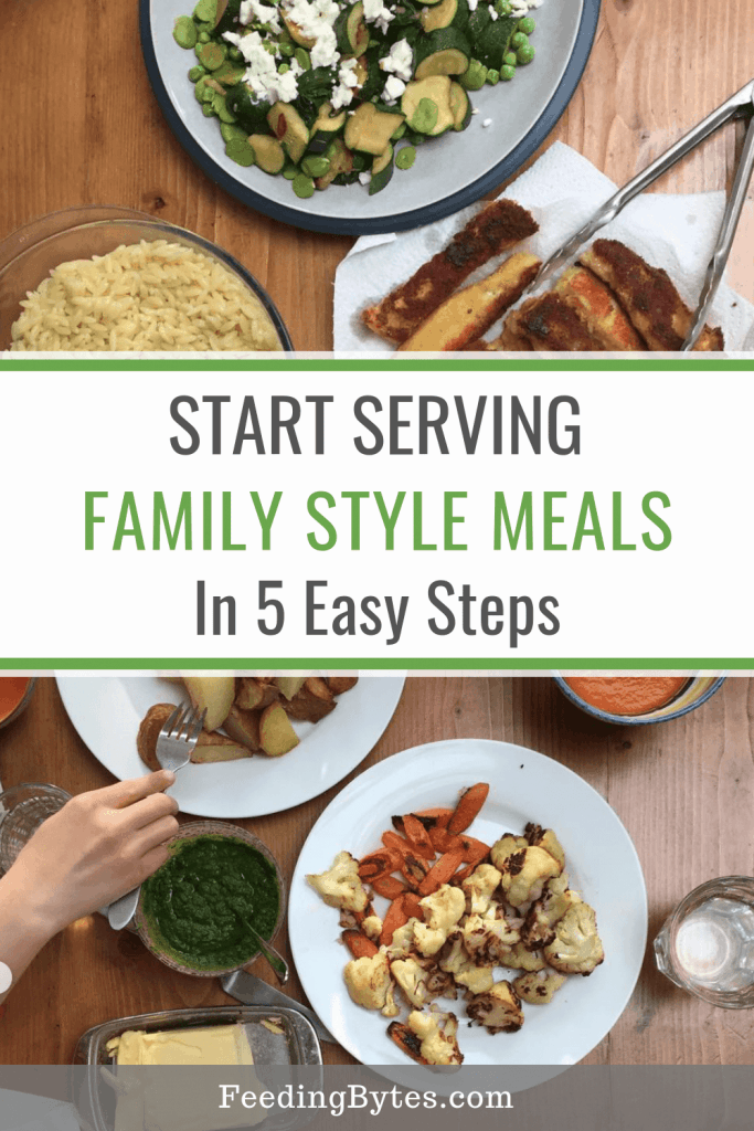 How to start serving family style meals